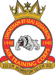 1440 (Shoreham-by-Sea) Squadron Crest